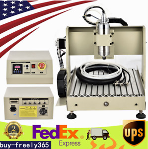 3040t Cnc Machine Router 4axis Engraving Wood Metal Carving Diy Milling Machine