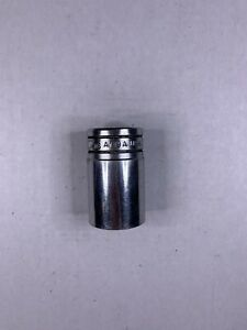 Snap on 3 8 Drive Oil Pressure Sending Chrome Socket 1 1 16 A119a
