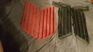 Z34 Lumina Hood Louvers Complete Red 91 92 93 94 Vents