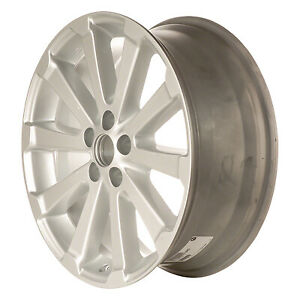 19 Wheel Rim For 2009 2013 Toyota Venza 19x7 5 Refinished Silver
