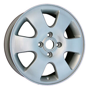 16 Wheel Rim For 2000 2003 Ford Focus 16x6 Refinished Silver