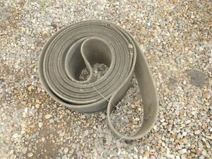 Vintage Hit miss Engine Steam Engine Tractor Endless Belt 25 Ft X 8
