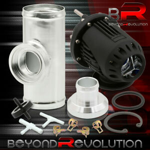 2 5 Adapter Piping Kit Black Ssqv Style Bov Blow Off Valve Turbo Turbocharger