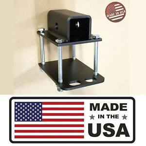 Sr Bumper Receiver Adapter Mount On Rv Travel Trailer Carrier Hitch Usa