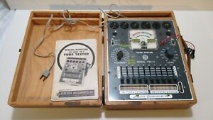 Tube Tester Superior Instruments Tw 11 1956 Model With Case And Manual