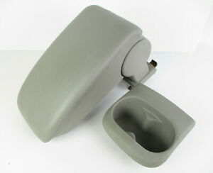 Chevy Cobalt Center Console Arm Rest Lid Top Pad Cover Cup Holder Gray 05 10