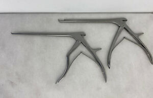 Integra Ruggles R1671 And R1572 Spurling Kerrison Rongeur Ivd 3mm 4mm Lot 2