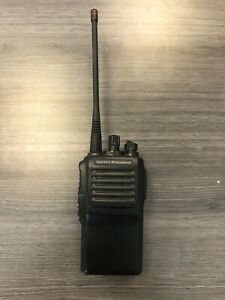 Vertex Standard Isvx 821 g7 5p1 d0 p1 Uhf Handheld Two way Radio Black