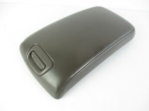 Nissan Maxima Center Console Arm Rest Lid Top Only Cover Taupe Leather 00 03