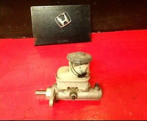 96 00 Honda Civic Brake Master Cylinder With Reservoir Cap 15 16 With Abs Oem