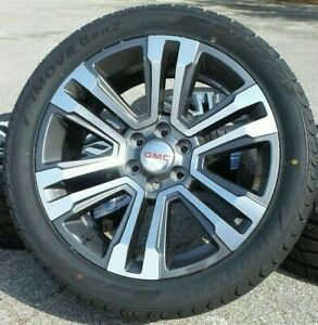 22 Gmc Yukon Sierra Denali Wheels Rims Tires 2020 2019 2018 Gm 23217278 5822