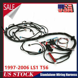 Standalone Wiring Harness 1997 2006 Dbc Ls1 T56 Or Non electric Tran 4 8 5 3 6 0
