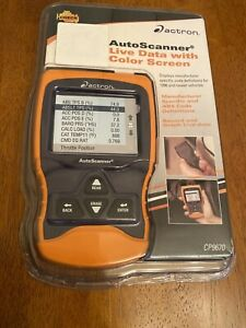 Actron Cp9670 Autoscanner Trilingual Obd Ii Can Scan Tool W Color Screen New