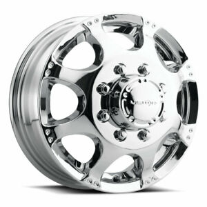 17 Inch Vision 715 4 Wheel Rims 17x6 5 121 35mm 8x170 Chrome