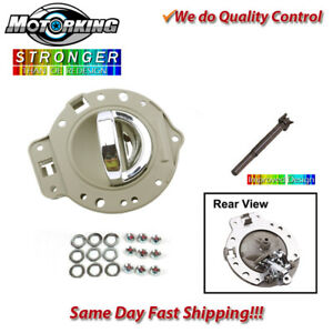 Interior Door Handle Front Or Rear Left For 06 10 Jeep Commander Tan Chrome