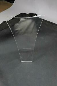 Case 15 Clear Acrylic Necklace Countertop Display 7 Tall X 6 Wide