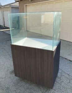 Glass Show Case Cabinet Commercial With Caster