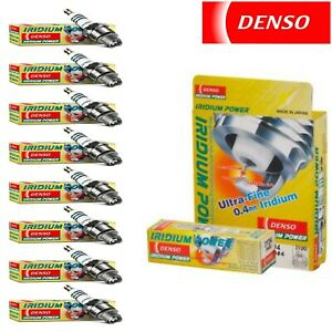 8 Denso Iridium Power Spark Plugs For 2003 2004 Ford Mustang V8 4 6l
