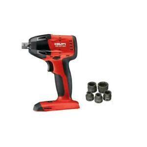 Hilti Siw 6at a22 Cordless Impact Driver 1 2 W extras Brand New