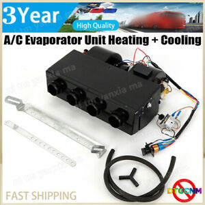 Under Dash Heat Cool A c Air Conditioning Evaporator Unit Kit 4 port 404 000 New