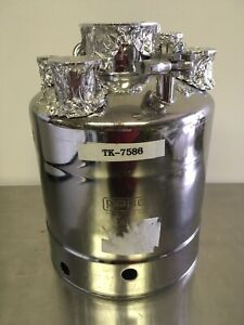 Pope Scientific Alloy Products Stainless Steel Pressure Vessel Tk 7586 130psi