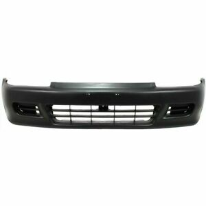 New Ho1000141 Front Bumper Cover Plastic Primed For Honda Civic 1992 1995