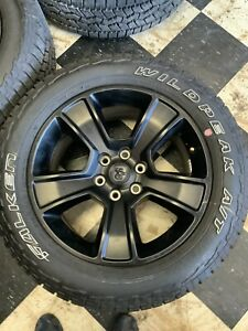 Dodge Ram 1500 Factory 20 Black Wheels And Tires New Take Off S