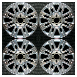 Set 2009 2011 2013 Ford Expedition F150 F 150 Oem 20 Polished Wheels Rims 3788