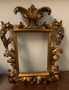 Antique Ornate Wooden Picture Photo Frame 14 X 11 8 X 6