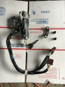 1994 1998 Acura Integra Ignition Lock Switch With 2 Keys For 5 Speed Oem