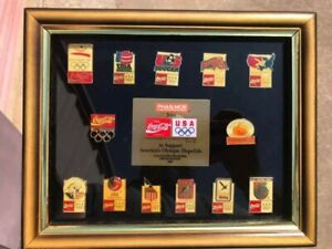 Phar More / Coca Cola / Olympics 1992 America's Olympic Hopefuls Pin Set