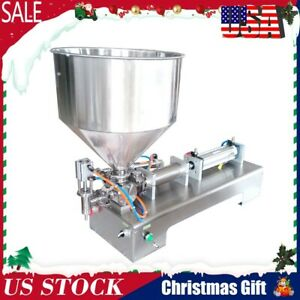 Automatic Paste Filling Machine 100 1000ml For Cream Honey Sauce Cosmetics Tooth