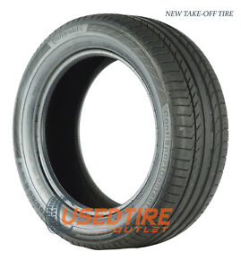 2555019 Continental Contisportcontact 5 Ssr Moe New Take Off Tires 100 Tread X4