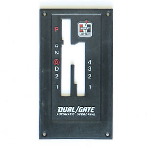 Hurst Dual Gate 2920000 4 Speed Auto Top Plate Only 1982 1992 Camaro 1400009