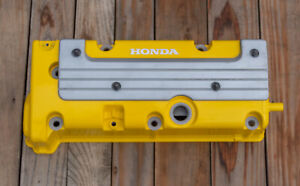 Honda K24 K20 Type R Accord Civic Rsx Valve Cover Powder Coated In Spoon Yellow