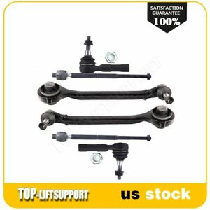 6pc Lower Control Arm Inner Outer Tie Rods Parts For 2005 2010 Chrysler 300 Rwd
