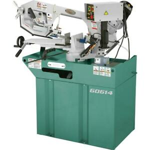 Grizzly G0614 6 X 9 1 2 1 1 2 Hp Swivel Metal cutting Bandsaw