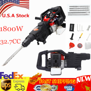 Electric Gas Demolition Jack Hammer Concrete Breaker Punch Drill Jackhammer