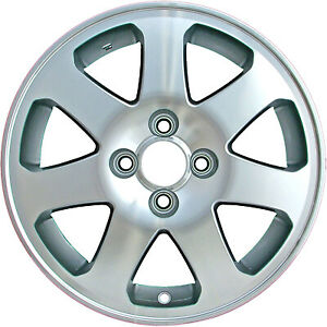 15 Wheel Rim For 1999 2005 Honda Civic 15x6 Refinished Silver