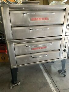 Blodgett 911 Natural Gas Double Deck Pizza Oven W stones Las Vegas Pick Up Only