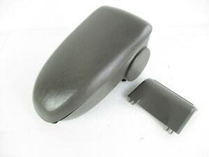 Ford Focus Center Console Arm Rest Lid Top Pad Cover Storage Gray 2000 2007