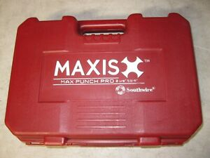 Southwire Maxis Max Punch Pro 2 1 2 To 4 Heavy Duty Die Punch Set