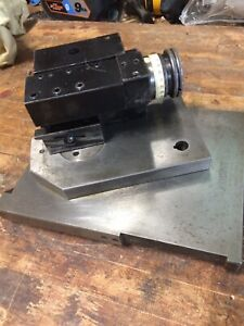 Tool Holder Swivel Slide And Top Slide Hardinge Lensmaster 11 Optical Radius