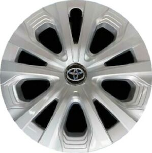 Factory Toyota Prius Xle 2019 2020 Hubcap 15 Cover Silver Oem 42602 47261