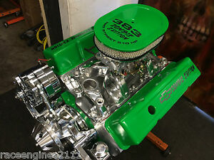 383 Stroker Motor 521hp Roller Turnkey Pro Street Chevy Crate Engine 383 383 383