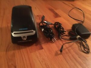 Dymo 450 Labelwriter Label Printer W cords Tested Working One Flaw read