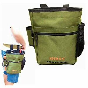 Metal Detecting Finds Bag Waist Digger Pouch Tools Bag For Pinpointer Garrett