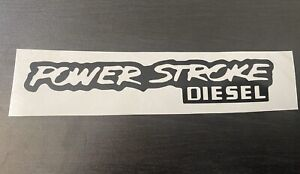 Ford Powerstroke Diesel Decal Obs F350 F250 7 3 Pair