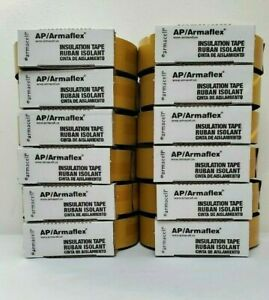 Lot Of 12 Armaflex 2 In Insulation Tape 30 Feet Tap18230 Made In Usa