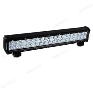 17 Inch 288w Led Work Light Bar Combo Beam Driving Offroad 4wd Suv Boat Us
